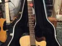 TAKAMINE FLAT TOP ACOUSTIC ELECTRIC GUITAR-MODEL