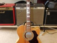****UP FOR SALE IS THIS SLIGHTLY USED TAKAMINE G-SERIES