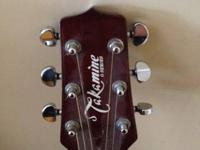 I am selling my takamine acoustic guitar. Please
