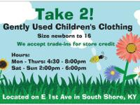 Take 2! Gently used Children's Clothing Size newborn to
