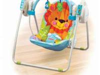 EXCELLENT USED CONDITON- Fisher Price Take-A-Long swing