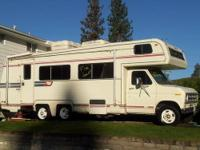 This is a very nice 1978 Holiday Rambler in really nice