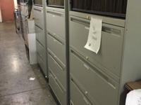 Take all ( 6 ) 5 drawer lateral File Cabinet for