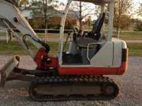 Overview: Make: Takeuchi Model: TB135 Year: 2004 Hours: