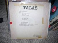 Buffalo born and bred Talas test pressing of LIVE ON