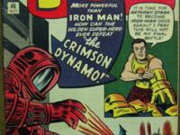 TALES OF SUSPENSE# 46 Oct 1963 1st Crimson Dynamo Kirby