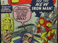 TALES OF SUSPENSE# 48 Dec 1963 1st Red Gold Armor