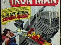 TALES OF SUSPENSE# 53 May 1964 2nd Black Widow Origin