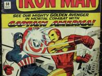 TALES OF SUSPENSE# 58 Oct 1964 Iron Man v Capt America
