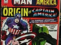 TALES OF SUSPENSE# 63 Mar 1965 1st SA Origin Capt
