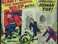 TALES TO ASTONISH# 50 Dec 1963 1st Human Top/Origin