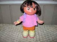 Clean and in good condition. Dora sings, dances,