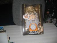 Duck Dynasty (NEW IN BOX)--PLUSH figure --Uncle Si's