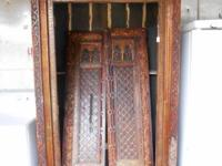 Heavy and extremely tall Armoire the Doors where gotten