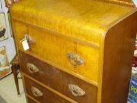 4-Full Drawer Tall Boy water fall dresser. Some with