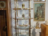 This Tall Metal Etagere Shelf is in very excellent