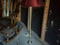 lamp for sale,great for a end piece with the glass to