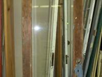 Tall Exterior Wood Door, 2/3 ( Beveled ) Glass 31 ""