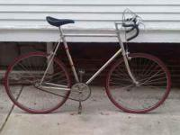 Up for sale is a single speed schwinn world sport. this