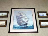 Here are five gorgeous tall ship posters in wonderful