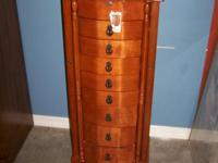 Tall Standing Jewelry Cabinet -$139 Just under 3.5ft