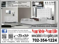 FREE MATTRESS & BOX SPRING WITH PURCHASE *Must present