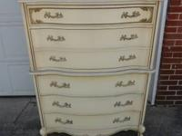 For sale right here is a chest of drawers. It
