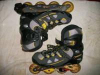 Talon 6000 Forward ABEC5 Inline Skates Black Size 10