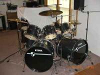 TAMA 8 Piece Imperialstar Drum Kit For Sale. Purchased
