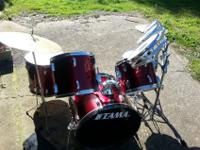 I have a Tama drum set for sale. Lightly used. In great
