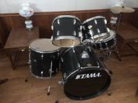 Drum set- everything except cymbal