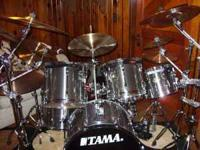 I hav 2 sets of drums, one set is enough. This set is