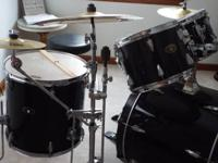 6 pc set ~ Includes bass drum with pedal, snare with
