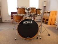 Available: 2012 TAMA Silverstar 7 pc. Tamo Ash drum