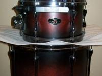 "Tama Superstar 8, 10 and 16"" all Birch Toms with RIMS"