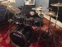 Im selling my Tama drumset. I bought it all 4 years ago