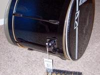 "Here is a new Tama superstar hyper-drive 22"" x 18"" bass"