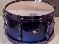 "Here is a new Tama superstar hyper-drive 12"" x 7"""