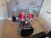 Bought this drum set with the intention of playing it,