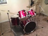 . Tama Swingstar drum set. I believe made in the early