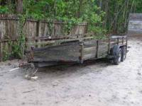 This is an heavy made boat trailer with good strong