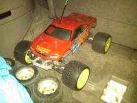 Nitro tamiya tnx runs good ready to go 2 speed trans