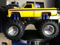 I have a tamiya super clodbuster a remake of the