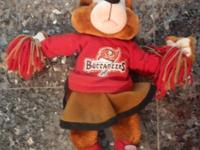 Adorable Tampa Bay Buccaneers Build-A-Bear Female