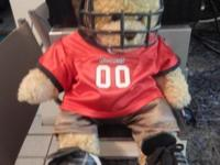 Great Tampa Bay Buccaneers Male Build-A-Bear Football