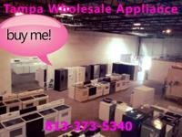 We sell Washer , Dryer , Glass Top & Coil Top Stove and