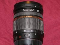 Tamron 17-50 2.8 XR Di II SP zoom lens for Canon EOS