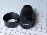 This is a Tamron 70-300 telephoto lens, the lens has a