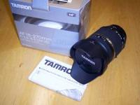 Tamron AF 18-270mm lens, Canon Mount. This is a really