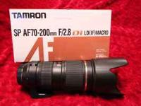 TAMRON SP AF70-200mm F/2.8 Di LD(IF)MACRO Lens for